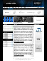 Shadow Gaming Website Template by zblowfish