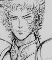 Shura Capricorn - Sketch by ShandyRp