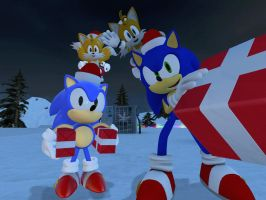 Merry Christmas and happy new year by sonic1993