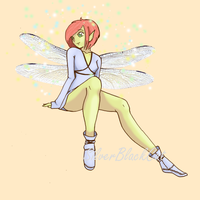 Fairy - Commission by MollysArtCorner