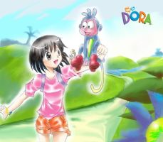 Dora the Anime by Ryuu-boya