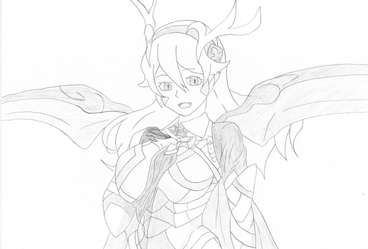 Monster Girl Corrin by Light-Triforce
