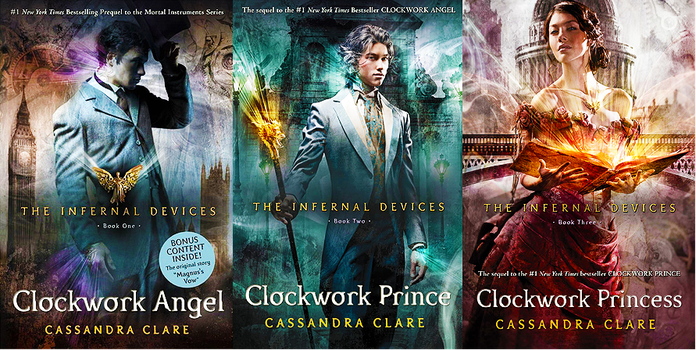 The Infernal Devices Trilogy by ninadobrevs