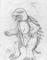 Generation X Gamera for GoDon by Speedynat3
