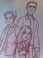 X-Men First Class sketch by danidraws