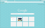 Raindrops - Google Chrome Theme by CupcakeyKitten