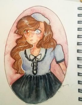 porcelain doll by stingrayqueen
