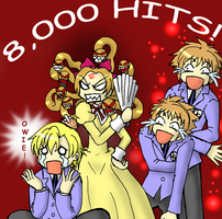 Ouran 8000 Hits by Duelistabbeyryou