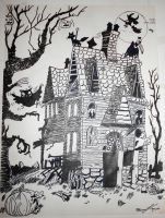 Haunted House.. by october84stardust