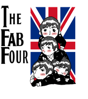 The Fab Four by Happy-Bomber