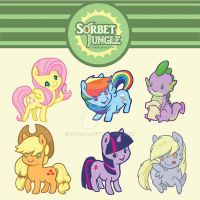 My Little Pony :D by kyokia