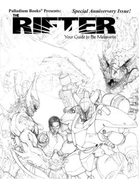 Rifter 50 Cover pencil mock up by ChuckWalton