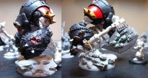 WIP Khador Doom Touched by Peturabo