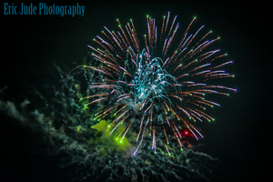 Fireworks in Jackson, Kentucky by FrozenCreekStudios