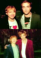 Rupert and Rob now and then by nylfn