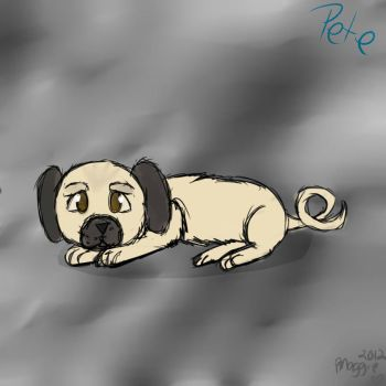 Pete (My Puppy) Quick Sketch by Maggehx3