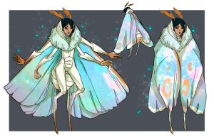 Lunar moth concept by GeneticMistake