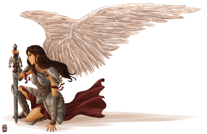 Warrior Angel by cinash