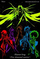 -Five Elemental Warriors- by Miaw-Asakura