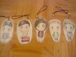 One Direction Key Chains by spyu98