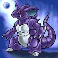 NidoKing by La-mia