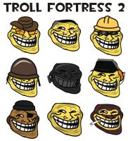 Troll fortress 2 by spycrap