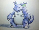 034 Nidoking by EnigmaBerry