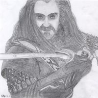 Thorin Oakenshield by PikaCathy