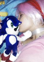 Sonic The Hedgehog: Kiss! by sumomin