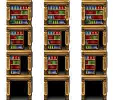 !$Bookcasedoor by Nicnubill
