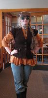 My Steampunk Costume *finished* by Adriellovesart