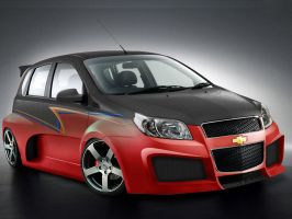 Chevrolet Aveo C0nt3st by Ditto-kun