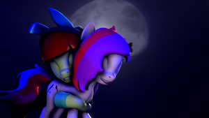 [SFM] (gift) Moonlight AppleRabbit by Blood-Striker