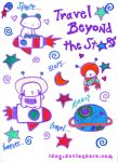 Astronauts and Star Games by idog