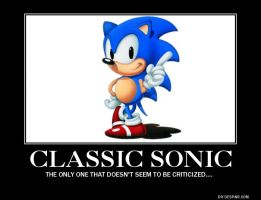 Classic Sonic Demotivational by HispanicOrca