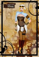Steampunk Cinderella II by HelleeTitch