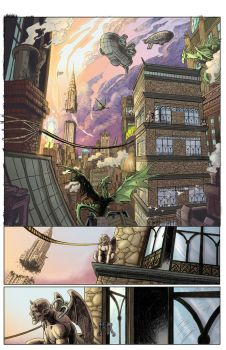 Gutter Magic, Page 1 by donna-gregory