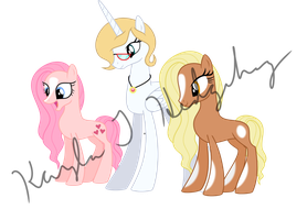 The High Queen and Her First and Second Born by kaylathehedgehog