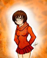 Velma (Scooby Doo) by Eilyn-Chan