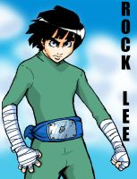 Rock Lee by ChuMeng