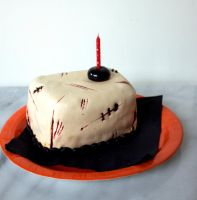 Zombie Cake by AliceWHatter