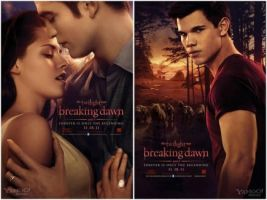 Breaking dawn part 1 posters by lopololo