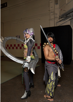 Mitsurugi and Tira Soul Calibur V Cosplay at WCS by ManticoreEX