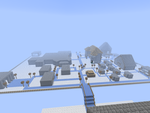 Minecraft Cloud City by CHL99