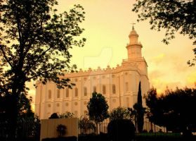 St. George LDS Mormon Temple 4 by houstonryan