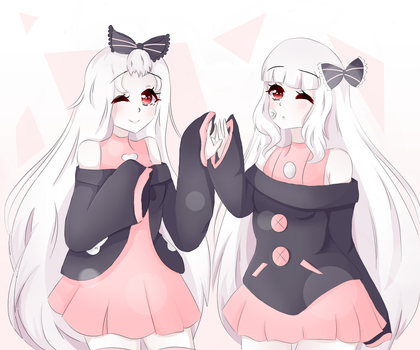 [COMM] Hitomi y Hiromi by anyeliny