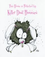 Killer Dust Bunnies by peanutjester