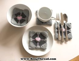 the companion coaster - free crochet pattern by SongThread