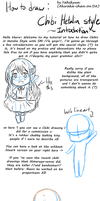 How to draw Chibi Hetalia Style P1:Introduction by Akiraka-chan