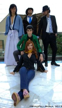 Heart Takers - Lupin III by PijoGenjo